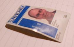 Vältvättat passerkort