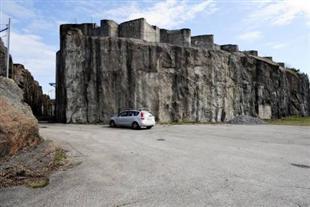 Fortet från väster